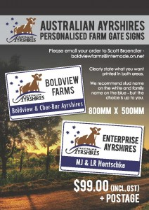 Gate Sign Ad